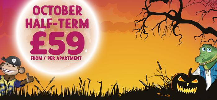 October Breaks From £59 Per Apt