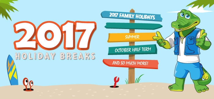 2017 Holiday Breaks from £69 per family!