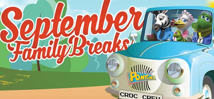 September Breaks - New Dates Added!