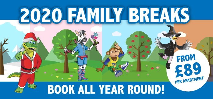 2020 Family Holidays From £89
