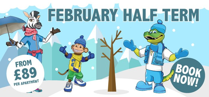 2020 February Half Term From £89