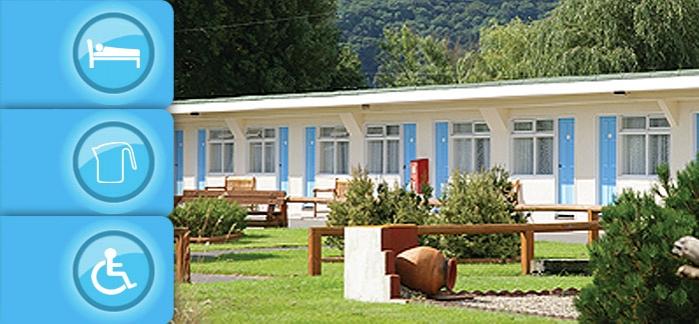 Accommodation at Pontins