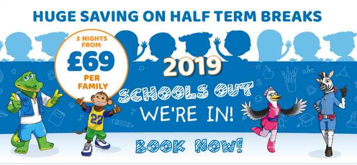 2019 School Holiday Breaks From £149