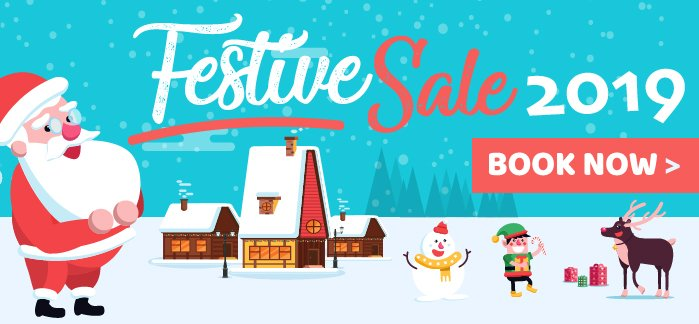 2019 Festive Sale Now On!