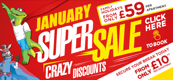 January Super Sale | Book With £10 Deposit