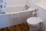 Pontins fitted bathroom