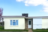 Front view of Pontins Brean Sands bungalow