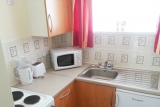 Kitchen area of the bungalow at Pontins Brean Sands