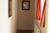 Hallway area of the bungalow at Pontins Brean Sands
