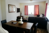 Dining and lounge area of Pontins Brean Sands bungalow