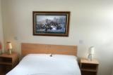 Master bedroom of Pontins Brean Sands bungalow