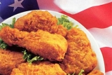 SFC chicken  at Casey\'s Whistle Stop