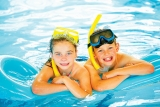 Enjoy the fully heated indoor swimming pool at Brean Sands