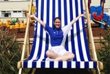 Pontins Giant Deckchair picture yourself on this!