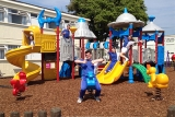 New outdoor play area for the little one\'s