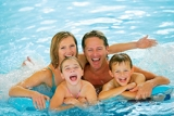 Fully heated indoor swimming pool