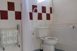 Accessible bathroom area