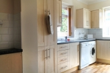 Kitchen of our newly refurbished bungalow at Pontins Pakefield