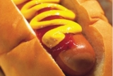 Try a hot dog at The Downtown Diner