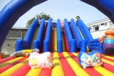 Inflatables at Camber Sands