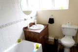 Bathroom area of Pontins Southport bungalow