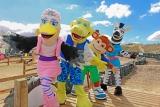Pontins Croc Crew characters