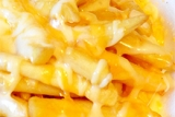 Cheesey chips at Captain Cod\'s