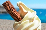 Ice creams from the Ice Cream Hut
