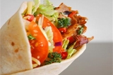 Kebab wraps at Captain Cod\'s