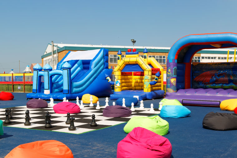 Our All New Bouncy Castle Centre Is Now Open At Pontins Southport We Are In The Process Of Uploading Pictures Onto Southports Park News Page