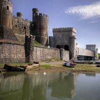 Conwy Castle near our Prestatyn Sands Park