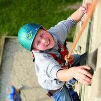 Climbing Tower at Camber Sands Holiday Park