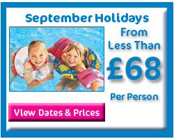 September Holiday Deals