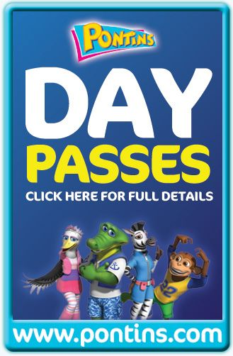 Link to Pontins Day Pass information page