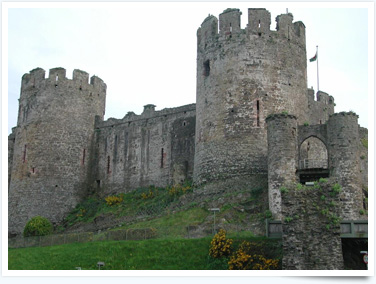 Visit Conwy Castle for interesting things to do in Prestatyn