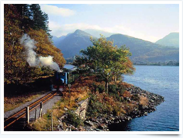 Visit the Llanberis Railway for interesting things to do in Prestatyn