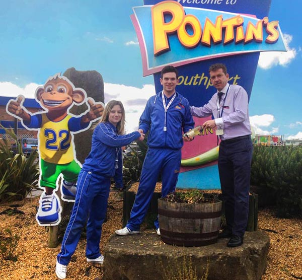 Pontins Southport Emloyee of The Month