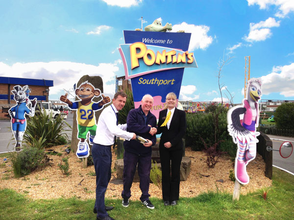 Pontins Southport Employee of the Month for May 2013