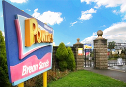Brean Sands Holiday Park Entrance