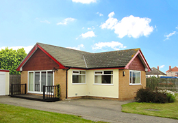 The luxury Bungalow at Pontins Holiday Parks
