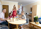 Ground floor apartments at Pontins Holiday Parks