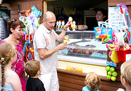 Fast food options on the Pontins Holiday Parks