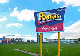 Prestatyn Sands Holiday Park Entrance