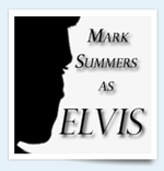 Mark Summers as Elvis at Pontins Select Adult Only Holidays.
