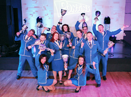 Pontins Bluecoats at win Sales Team of the Year