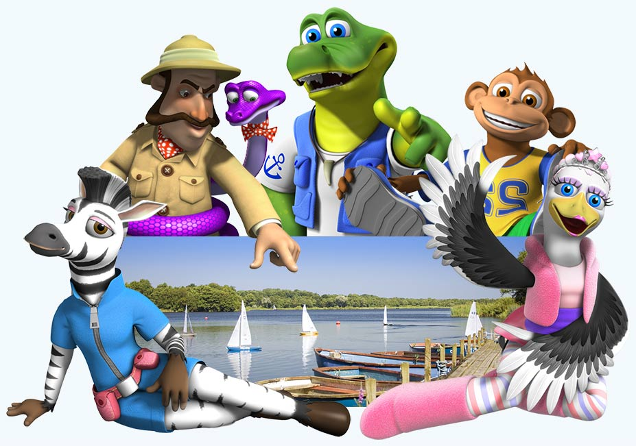 The Croc Crew showing you the local Marina