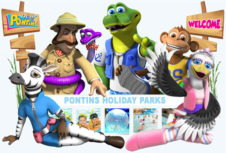 Day Passes At Pontins Holiday Parks