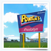Here's the Pontins Prestatyn Sands Park!