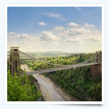 Clifton Suspension Bridge near Brean Sands