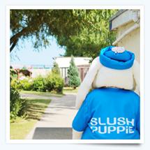 Slush Puppy at Pontins Holiday Park